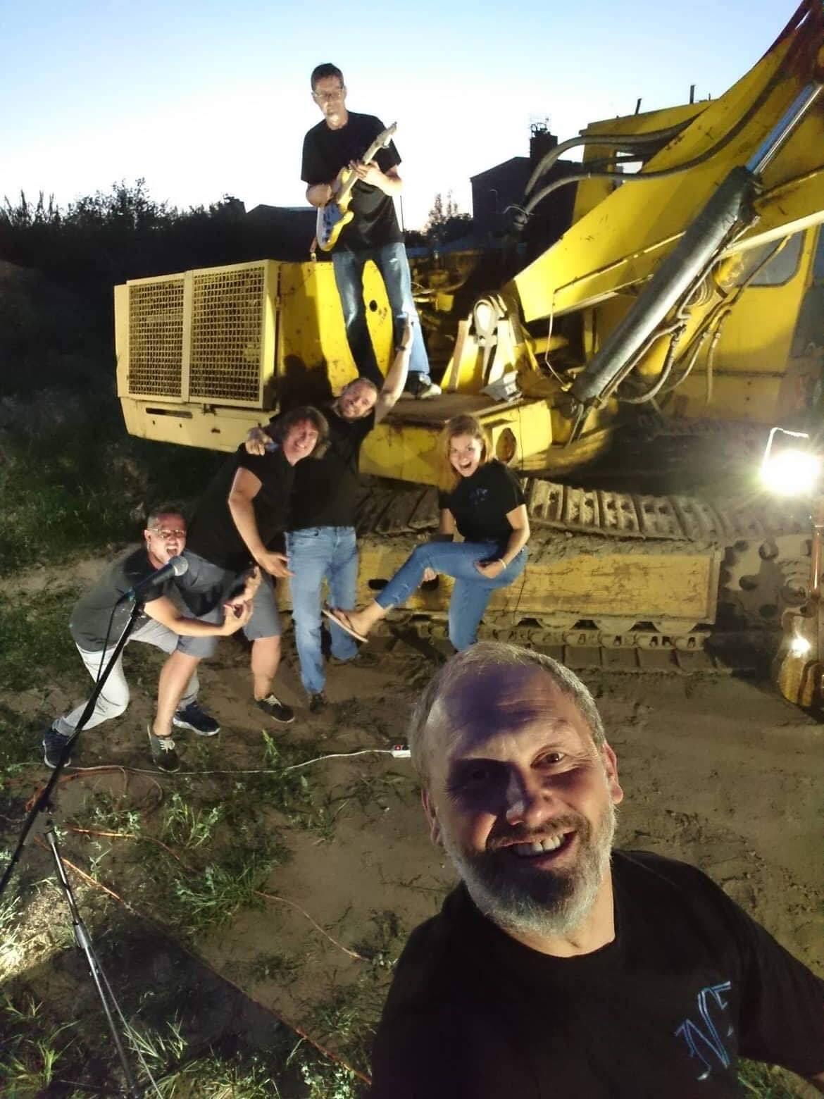 Natáčení klipu Litr písku